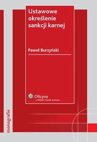 Ustawowe określenie sankcji karnej