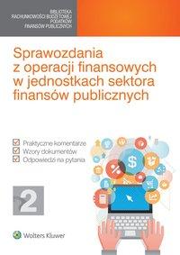 Sprawozdania z operacji finansowych w jednostkach sektora finansów publicznych