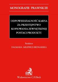 Odpowiedzialność karna za przestępstwo kopiowania zewnętrznej postaci produktu