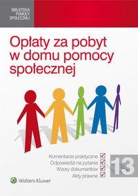 Opłaty za pobyt w domu pomocy społecznej - Bartłomiej Mazurkiewicz - ebook
