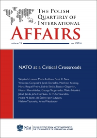The Polish Quarterly of International Affairs, no 1/2016