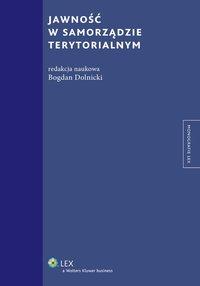 Jawność w samorządzie terytorialnym