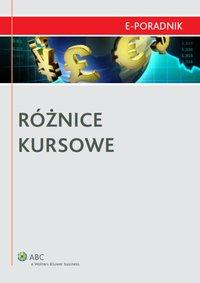 Różnice kursowe - Małgorzata Niedźwiedzka - ebook