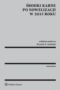 Środki karne po nowelizacji w 2015 r.