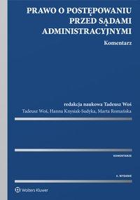 Prawo o postępowaniu przed sądami administracyjnymi. Komentarz - Hanna Knysiak-Sudyka - ebook