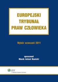 Europejski Trybunał Praw Człowieka. Wybór Orzeczeń 2011 - Marek Antoni Nowicki - ebook