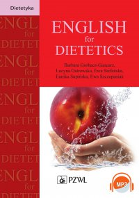 English for Dietetics - Barbara Gorbacz-Gancarz - ebook