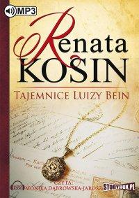 Tajemnice Luizy Bein - Renata Kosin - audiobook