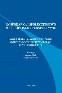 Nowe trendy i zjawiska w rozwoju społeczno-gospodarczym Polski i Unii Europejskiej - Krzysztof Luks - ebook