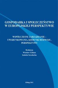 Gospodarka i społeczeństwo w europejskiej perspektywie