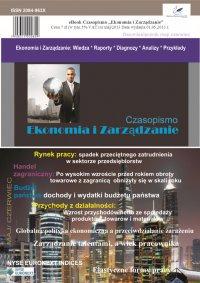 Czasopismo Ekonomia i Zarządzanie nr 3 maj/2013