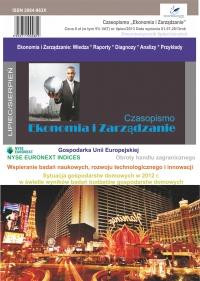 Czasopismo Ekonomia i Zarządzanie nr 4 lip/2013