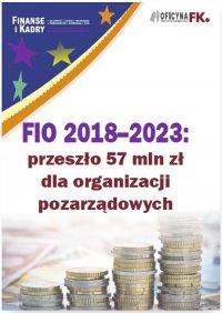 FIO 2018–2023: przeszło 57 mln zł dla organizacji pozarządowych