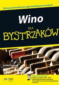 Wino dla bystrzaków - Ed McCarthy - ebook