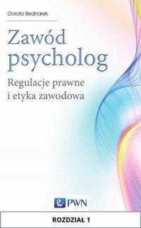 Zawód psycholog. Rozdział 1