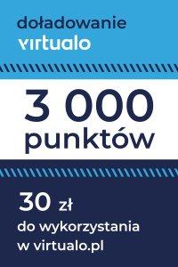 Doładowanie punktów Virtualo - 3000 punktów