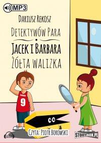 Detektywów para - Jacek i Barbara. Żółta walizka