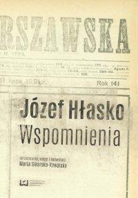 Józef Hłasko. Wspomnienia - Marta Sikorska-Kowalska - ebook
