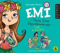 Emi i Tajny Klub Superdziewczyn. Tom 8. List w butelce - Agnieszka Mielech - audiobook
