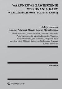 Warunkowe zawieszenie wykonania kary w założeniach nowej polityki karnej - Katarzyna Witkowska-Rozpara - ebook