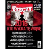Do Rzeczy. Tygodnik do słuchania. Nr 01 z 28.12.2015