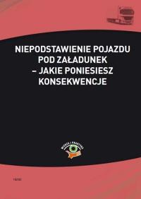Niepodstawienie pojazdu pod załadunek – jakie poniesiesz konsekwencje - Cezary Młotek - ebook