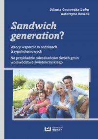 Sandwich generation? Wzory wsparcia w rodzinach trzypokoleniowych. Na przykładzie mieszkańców dwóch gmin województwa świętokrzyskiego - Jolanta Grotowska-Leder - ebook