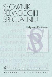 Słownik pedagogiki specjalnej