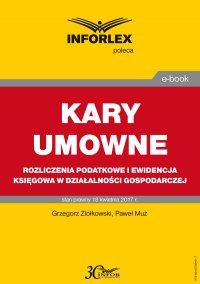 Kary umowne -rozliczenia podatkowe i ewidencja księgowa w działalności gospodarczej - Grzegorz Ziółkowski - ebook