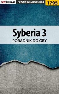 "Syberia 3 - poradnik do gry - Katarzyna ""Kayleigh"" Michałowska - ebook"