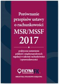 Porównanie przepisów ustawy o rachunkowości i MSR/MSSF 2017 - dr Katarzyna Trzpioła - ebook