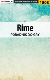 """Rime - poradnik do gry - Grzegorz """"Alban3k"""" Misztal - ebook"""