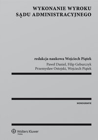 Wykonanie wyroku sądu administracyjnego - Przemysław Ostojski - ebook