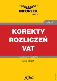 Korekty rozliczeń VAT