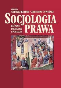 Socjologia prawa - Andrzej Kojder - ebook