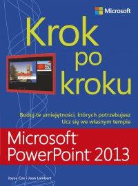 Microsoft PowerPoint 2013 Krok po kroku - Joan Lambert - ebook
