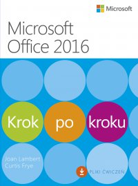 Microssoft Office 2016 Krok po kroku - Joan Lambert - ebook