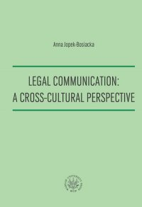 Legal Communication : A Cross-Cultural Perspective
