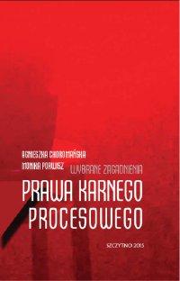 Wybrane zagadnienia prawa karnego procesowego - Agnieszka Choromańska - ebook