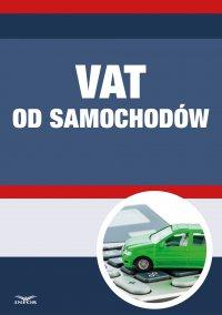 VAT od samochodów