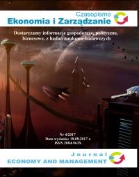 Czasopismo Ekonomia i Zarządzanie nr 4/2017