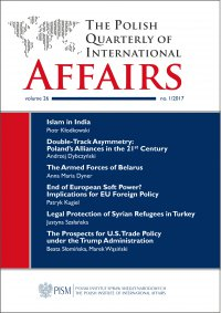 The Polish Quarterly of International Affairs, no 1/2017