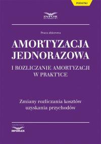 Amortyzacja jednorazowa i rozliczanie amortyzacji w praktyce