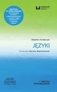 Języki. Krótkie Wprowadzenie 1 - Stephen Anderson - ebook