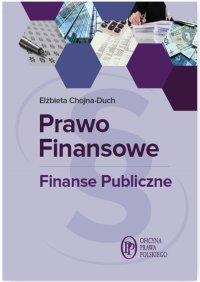 Prawo finansowe. Finanse publiczne