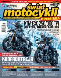 Świat Motocykli 10/2017 - Opracowanie zbiorowe - eprasa