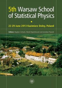 5th Warsaw School of Statistical Physics - Bogdan Cichocki - ebook