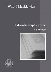 Filozofia współczesna w zarysie