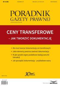Ceny transferowe - jak tworzyć dokumentację