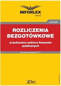 Rozliczenia bezgotówkowe w jednostce sektora finansów publicznych
